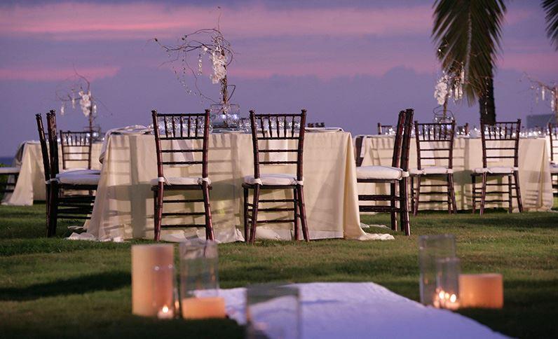 Grand Velas Riviera Nayarit Convention Center - Beachfront Evening Banquet