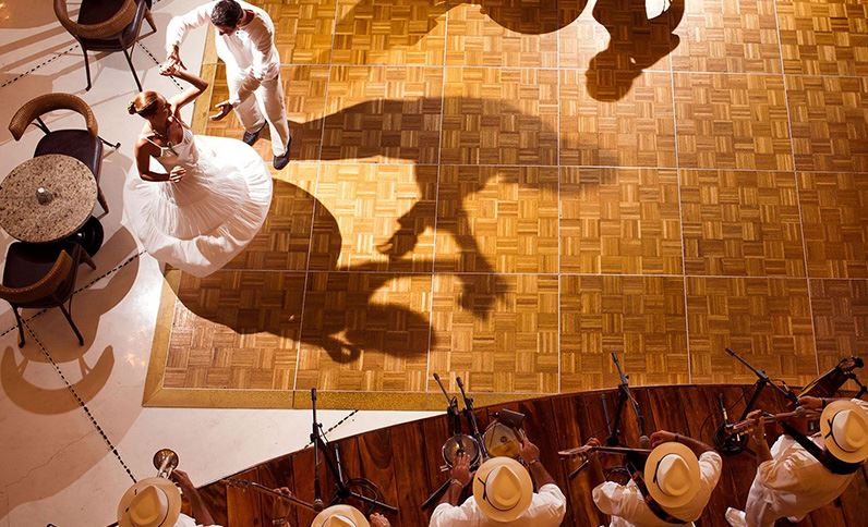 Grand Velas Riviera Nayarit - A Couple Dancing