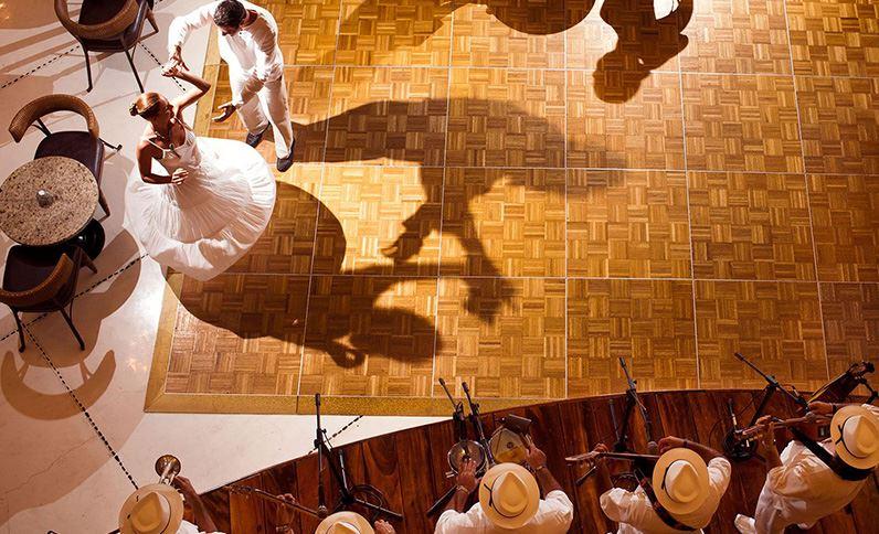 Grand Velas Riviera Nayarit - A Couple Dancing
