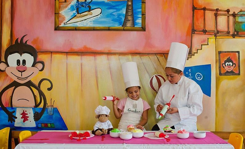 Grand Velas Riviera Nayarit Kid's Club - Cooking Classes