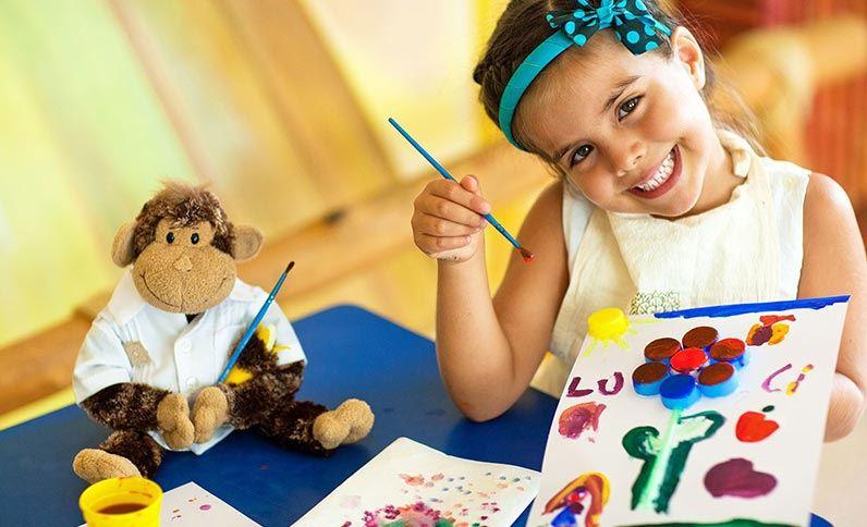 Grand Velas Riviera Nayarit Kid's Club - Painting Classes
