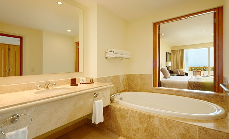 Grand Velas Riviera Nayarit Suites - Master Suite Ocean Front View