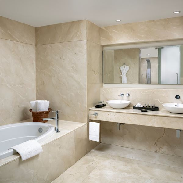 Ambassador Grand Class Suite Offering Bath Amenities at Grand Velas Riviera Nayarit