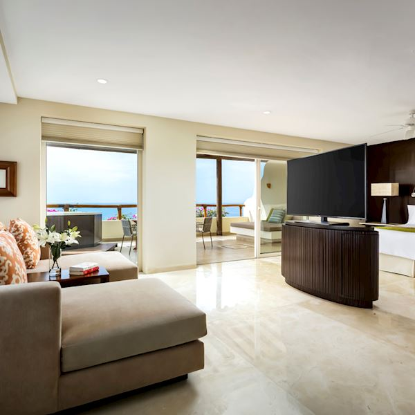 Grand Velas Riviera Nayarit Ambassador Grand Class Suite Luxury Plan Inclusion