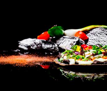 Flan Queso Cabra Frida Restaurant