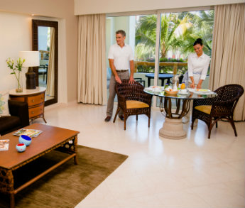 In-Suite Dining at Grand Velas Riviera Nayarit