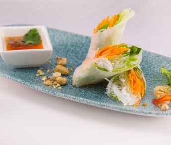 Vietnamese Roll at Sen Lin Restaurant Grand Velas RIviera Nayarit