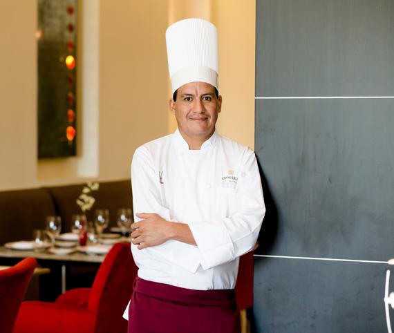 Chef Chef Raúl Hernandez Restuarant Piaf