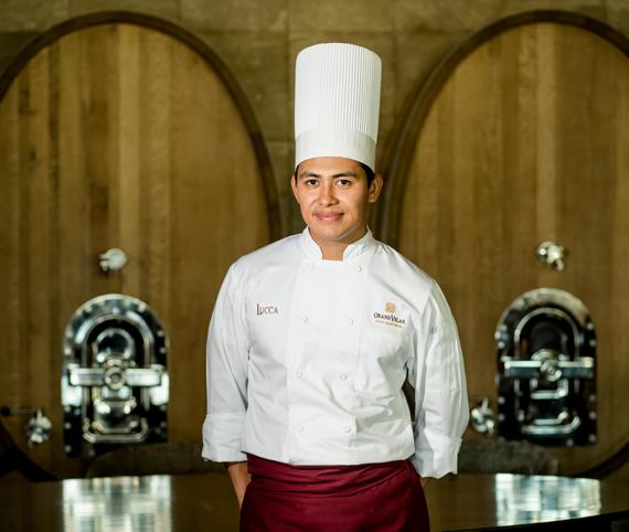 Chef Adrián Aguayo Restaurant Lucca