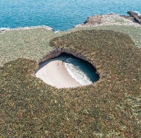Islas Marietas (Marietas Islands) in Mexico