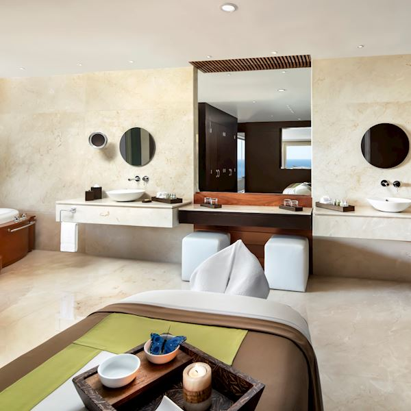 Imperial Spa Suite Offering Bath Amenities at Grand Velas Riviera Nayarit