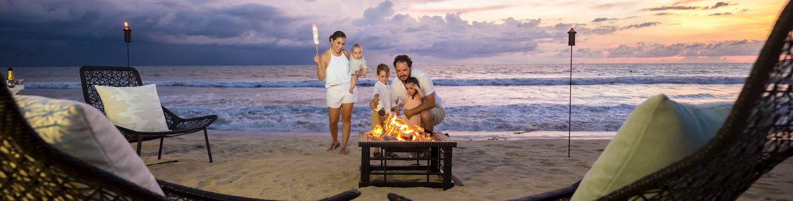 Bonfire by the beach - grand velas riviera nayarit