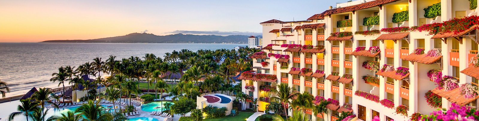 Location of Grand Velas Riviera Nayarit, Mexico