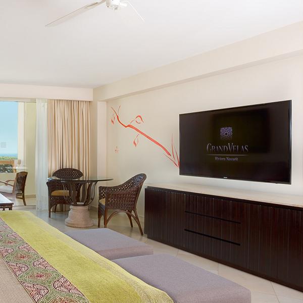 Master King Suite Electronics Facility at Grand Velas Riviera Nayarit