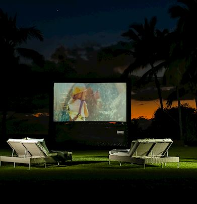 Family Cinema in Grand Velas Riviera Nayarit