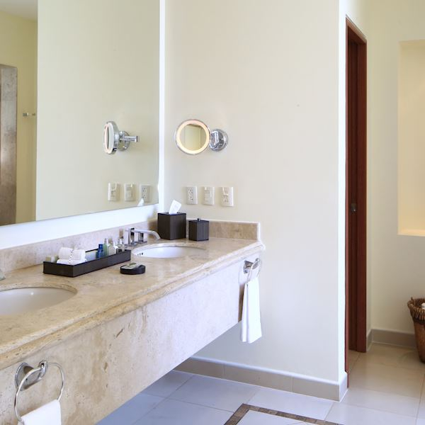 One Bedroom Governor Suite Offering Bath Amenities at Grand Velas Riviera Nayarit
