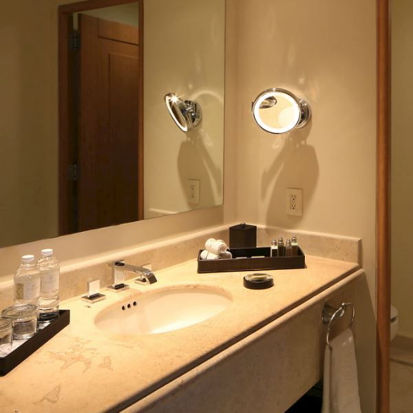 Master Suite Ocean Front Offering Bath Amenities at Grand Velas Riviera Nayarit