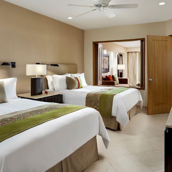 Parlor Suite King Amenities at Grand Velas Riviera Nayarit