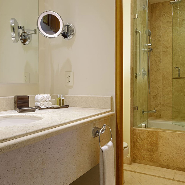 Parlor Suite King Offering Bath Amenities at Grand Velas Riviera Nayarit
