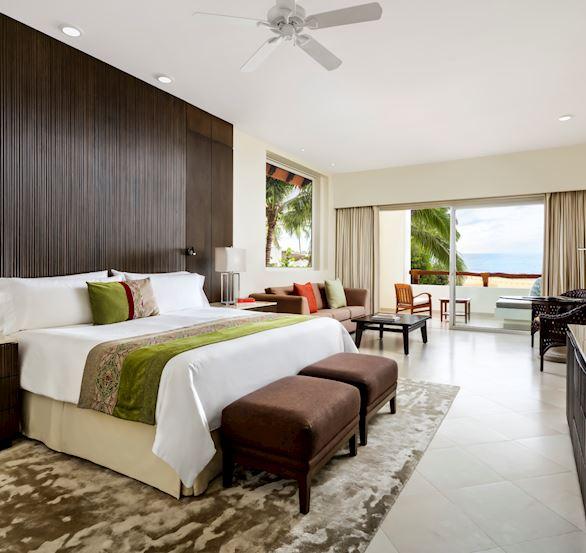 Master Suite Ocean Front View in Grand Velas Riviera Nayarit