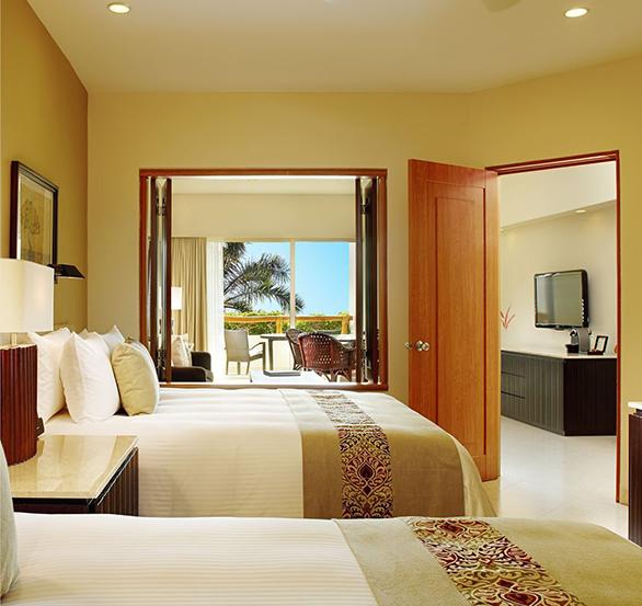 Parlor Suite Pool View in Grand Velas Riviera Nayarit