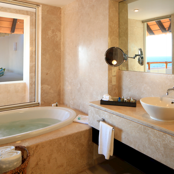 Two Bedroom Presidential Suite Offering Bath Amenities at Grand Velas Riviera Nayarit