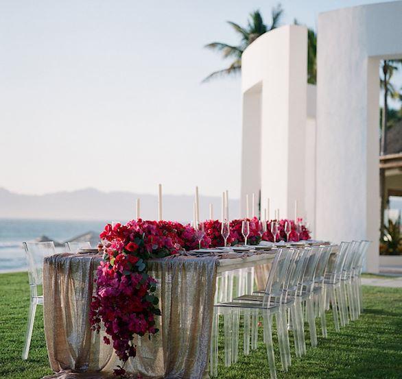 Weddings Banquet in Grand Velas Riviera Nayarit